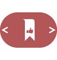 bookmark symbol vector image