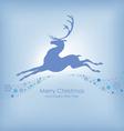 deer background vector image vector image