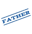 Father Watermark Stamp vector image vector image