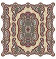 Floral Ornamental Seamless Carpet Design vector image