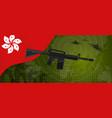 hongkong modern warfare world map country army vector image vector image