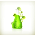 Laboratory flask vector | Price: 1 Credit (USD $1)