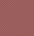 Marsala Polka Dot Seamless Pattern Background vector image vector image