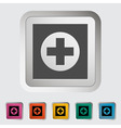 Medical sign 2 vector image vector image