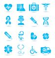 Medicine icons vecior2 vector image