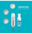 medicine tools icon vector image
