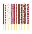 pocky pepero stick vector image vector image