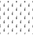 Portable handheld radio pattern simple style vector image vector image