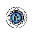 Symbol of Presbyterian religion vector image vector image