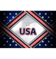 usa flag backgrounds style vector image vector image