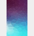 vertical flat background with geometric triangle vector image