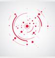 bauhaus art composition decorative modular red vector image vector image