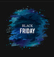 black-friday-dark-blue vector image vector image