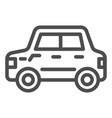 car line icon automobile vector image