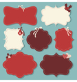 Christmas vintage labels vector | Price: 1 Credit (USD $1)