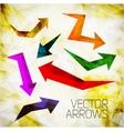 design arrow vector image vector image