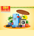 electronics sale for advertisement and promotion vector image vector image