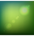 Green Soft Colored Abstract Background with Lens vector image vector image