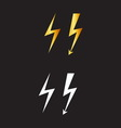lightnings resize vector image vector image