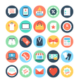 Shopping Icons 5 vector image vector image