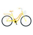 utility bike flat vector image