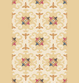 vintage seamless pattern in medieval style vector image