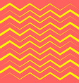 yellow chevron trendy pattern background vector image