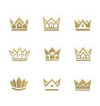 real estate crown1 vector image