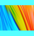 bright abstract background with colorful swirl vector image vector image