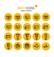 easy icons 12c money vector image vector image