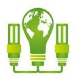 eco friendly environment vector image vector image