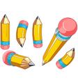 Pencils set vector image