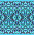 seamless pattern mandala boho indian seamless vector image