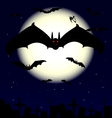 vampire bats vector image vector image