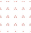 abc cube icon pattern seamless white background vector image vector image