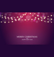 abstract winter new year and merry christmas vector image vector image