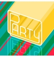 background party vector image vector image