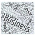 Business People Learn Spanish for Work Word Cloud
