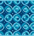fun simple water drop geometric seamless pattern vector image vector image