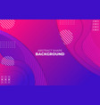 gradient dynamic shape overlapped abstract vector image vector image