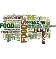 the case against raw frozen pet foods text vector image vector image