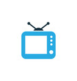 tv colorful icon symbol premium quality isolated vector image vector image