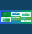 website design template business vector image vector image