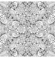 Seamless full frame kaleidoscope decoration vector image