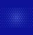 blue star background design vector image