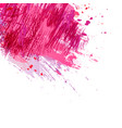 brush-pink-background vector image vector image
