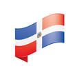 dominicana flag vector image