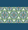 mosaic classic colorful medallion seamless vector image