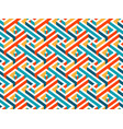 multicolor geometric maze seamless pattern vector image vector image