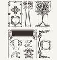 Set Of Art Deco Elements vector image